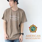 アメリカンバックカントリー 半袖tシャツ AMERICAN BACKCOUNTRY MT.RUSHMORE Tシャツ メンズ
