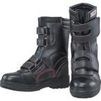 おたふく手袋 安全シューズ半長靴マジックタイプ 25.0【JW775-250】