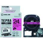キングジム テプラPROテープ マグネットピン/黒字(SJ24P)