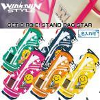 【WINWIN STYLE GET BIRDIE! STAR】ウィンウィンスタイル ゲットバード スター キャディバッグ CB-874/CB-875/CB-876/CB-877/CB-878