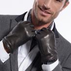 高級 本革 手袋 上質な肌触り メンズ カシミア ウール 紳士 1811Z