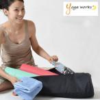 【メール便のみ送料無料】 ヨガワークス yoga works  マットバッグ ヨガマット ケース バッグ 6mmマット対応(11154)