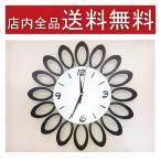 ショッピング壁掛け 掛け時計 デザイン壁掛け時計 おしゃれ 壁掛け時計 花型 インテリアダイニング時計 送料無料