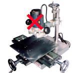 山戸製作所 木工フライスマシン(専用バイス付)※メーカー直送、代引き不可