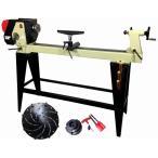 (セット特別価格)ピーウッド電動工具 木工旋盤+ロングワーススタイルチャックセット(バイト8本組セット付)(代引き不可)
