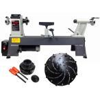 (セット特別価格)ピーウッド電動工具 木工旋盤&ロングワーススタイルチャックセット