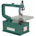 ユタカ電動工具 卓上木工糸鋸盤(定速、フトコロ380mm、フリーアーム)
