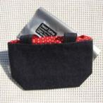 すぃーとこっとん布ナプキン用デニムポーチ(巾着トート) ファッション小物 バッグ レディス小物