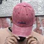 ILLCOMMONS SPORTS DAD CAP RED(イルコモンズ スポーツ ダッドキャップ レッド)