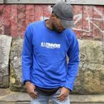 ILLCOMMONS BROOKLYN LOGO SWEAT BLUE (イルコモンズ ブルックリンロゴ スウェット ブルー)