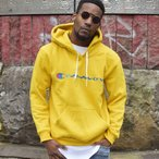 ILLCOMMONS FRONT LOGO HOODIE YELLOW (イルコモンズ フロントロゴ パーカー イエロー)