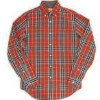 日本未入荷 春物 J-CREW B.D CHECK L/S SHIRTS RED ジェイクルー ボタンダウンチェックシャツ レッド 赤 海外限定