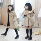 トレンチコート スプリングコート キッズコート 女の子 コート 子供服 韓国風 ジャケット ジャケット ベビー 春秋着