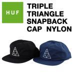 HUF (ハフ) TRIPLE TRIANGLE スナップバックキャップ ナイロン