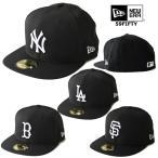 ニューエラ キャップ 59FIFTY MLB NEW ERA BLACK & WHITE ヤンキース ドジャース レッドソックス ジャイアンツ