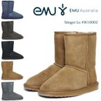 EMU Australia エミュー オーストラリア レディース ムートン ブーツ スティンガー ロー STINGER LO W10002 正規品 インポート 送料無料