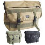 A4対応・ミニタリーショルダーバッグ、メッセンジャーバッグ、アーミー系デザイン/メンズバッグ・男性用かばん・通勤通学など/BAG-SHO-3828432-4681-602