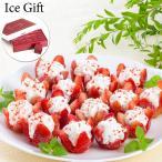 【送料無料】【ICE Gift】お花のようないちごアイス<15個入> 誕生日プレゼント お祝い 贈り物 お礼 スイーツ ギフト プレゼント 夏のひんやりスイーツ