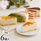 【送料無料】【シュシュクレープギフト】もっちり食感の手作りミルクレープ5種食べ比べセット <6個入> ケーキ 誕生日プレゼント お祝い お礼 ギフト 手土産