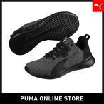 PUMA プーマ Tishatsu Runner Knit Jr 22 Puma Black-Puma White