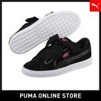 PUMA プーマ Suede Heart Street 2 Wns 22 Puma Black-Puma Black