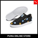 PUMA プーマ Sesame Str 50 Suede Badge Jr 22 Puma Black-Bleu Azur