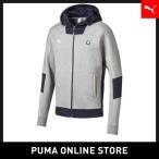 ショッピングプーマ プーマ PUMA BMW MS フーデッド スウェット ジャケット【メンズ BMW トップス パーカー】2018年春夏