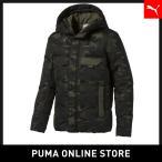 PUMA プーマ 480 Camo Down Jacket S Forest Night