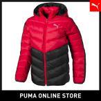 PUMA プーマ Active Down Jacket B 120 High Risk Red-Puma Black