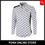 プーマ PUMA ゴルフ シ-ズナル グラフィック LS ポロシャツ メンズ ゴルフ ポロシャツ 2019年秋冬新作 19FH