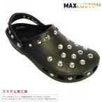 (新作)クロックス ネオパンク カスタム クラシック 黒 ブラック crocs custom サンダル メン ズ レディース