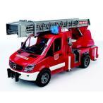 ブルーダープロ 02532 MB 消防車 / MB Sprinter fire engine with ladder, waterpump and Light &Sound Module