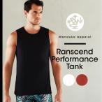 ショッピングトップス (Manduka) マンドゥカ MEN'S トランセンド パフォーマンス タンク ヨガウエア トップス フィットネス ダンス ライフスタイル