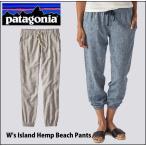 ショッピングpatagonia (パタゴニア) patagonia W's アイランド・ヘンプ・ビーチ・パンツ ライフスタイル リゾート ヨガ ダンス オーガニックコットン