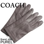 コーチ COACH 小物 手袋 メンズ アウトレット ベーシック レザー グローブ F54182 MAH マホガニー S