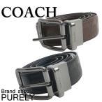 ショッピングコーチ コーチ COACH ベルト メンズ アウトレット レザー シグネチャー F55157 BLK ブラック MAH マホガニー