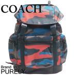 コーチ COACH バック リュック・デイパック メンズ アウトレット F59897 MWMGK マットブラック×チャコール×レッドカモ