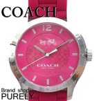 ショッピングコーチ ストラップ コーチ COACH 時計 アウトレット レディース マディ ステンレス スチール 40MM ラバー ストラップ ウォッチ 腕時計 W6033 DUL ダリア