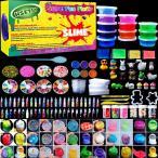 Yahoo!プレミアムセレクト2号店HSETIY slime kitフリースライムおもちゃ、ふわふわスライム香りストレスリリーフバブルガムフレグランス