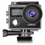 Campark 4Kアクションカメラ 2000万画素 フルHD 2イン