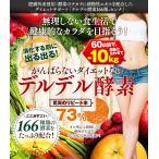 酵素 センナ効果で痩身!体質を大幅改善!送料無料 デルデル酵素166種+センナ