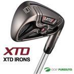 アダムスゴルフ XTD アイアン6本セット(#5-PW)MITSUBISHI RAYONカーボンシャフト・KBS C-Taper 90スチールシャフト[日本仕様][adams golf] 即納