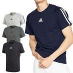 アディダス adidas MUSTHAVES 3ストライプ Tシャツ 半