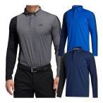 アディダス ゴルフ カラーブロック 長袖ボタンダウンシャツ ポロシャツ メンズ INS69