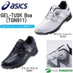 「TUSKソール」と「3Eワイド設計」で飛びと快適性を追求。 ■「スイング&歩行」のグリップ力を効果...