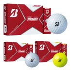 ブリヂストンゴルフ スーパーストレート ゴルフボール 1ダース 12球入 2021年モデル