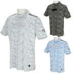 キャロウェイ 半袖ハイネックシャツ デジタルカモ柄 メンズ 241-0134507