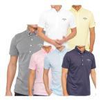 キャロウェイ 鹿の子ボタンダウン 半袖ポロシャツ メンズ 241-9157505