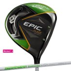 еье╟егб╝е╣ енеуеэежезед Callaway EPIC FLASH STAR е╔ещеде╨б╝ Speeder EVOLUTION for CW е╖еуе╒е╚ ╞№╦▄╗┼══