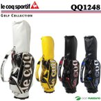 ショッピングルコック ルコック ゴルフ キャディバッグ 9.5型 QQ1248 le coq sportif GOLF 2017年モデル 大口径9.5型 即納